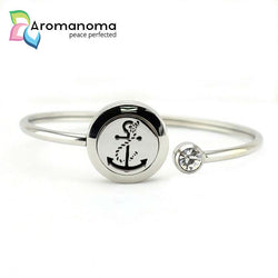Anchor Aromatherapy Bangle Bracelet