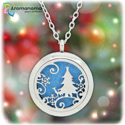 Christmas Night Aromatherapy Necklace