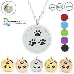Dog & Cat Lovers Aromatherapy Necklace