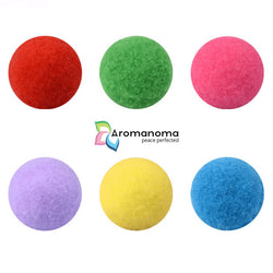6pcs 16mm Ball Pads for Essential Oil Aromatherapy Necklace or Bracelets