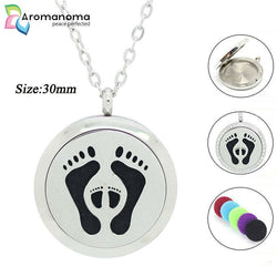 Mother Baby Aromatherapy Necklace