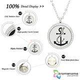 Anchor Aromatherapy Necklace