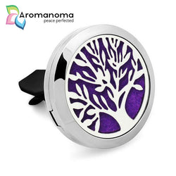Tree of Life Aromatherapy Car Diffuser Locket