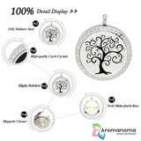 Full Spiral Tree Aromatherapy Necklace