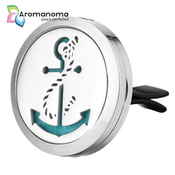 Anchor Aromatherapy Car Diffuser Locket