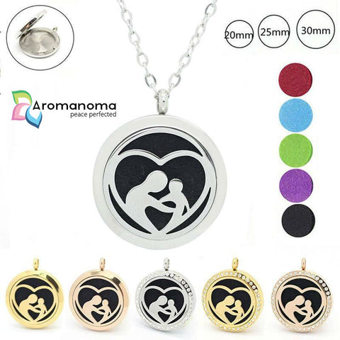 Mothers Love Aromatherapy Necklace