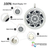 Mandala Flower Aromatherapy Necklace