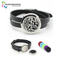 Wind Aromatherapy Leather Bracelet