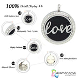 Love Word Aromatherapy Necklace