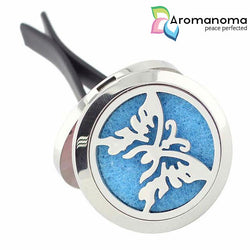 Butterfly Aromatherapy Car Diffuser Locket