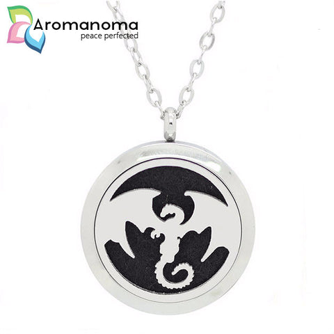 Dragon Aromatherapy Necklace