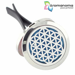 Flower of Life Aromatherapy Car Diffuser Locket