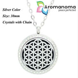 Flower of Life Aromatherapy Necklace