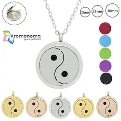 Yin Yang Aromatherapy Necklace