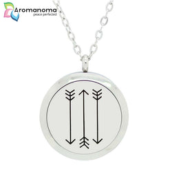3 Arrows Aromatherapy Necklace