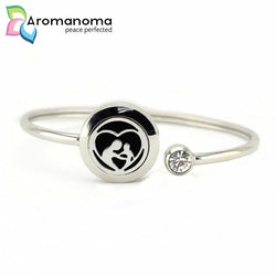 Mothers Love Aromatherapy Bangle Bracelet
