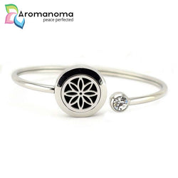 Star Flower Aromatherapy Bangle Bracelet