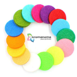 20 Felt Pads for 30mm Essential Oil Aromatherapy Jewelry & Diffusers