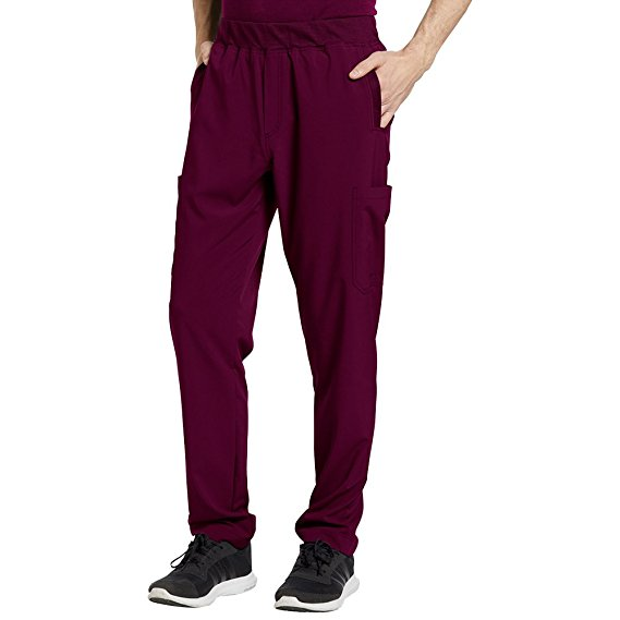 a0860b4ca7b Pant: Oasis Fit by White Cross Men's Mesh Waistband Stretch Scrub Pants Wine