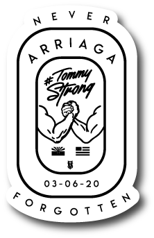 LIMITED ARRIAGA MEMORIAL STICKER