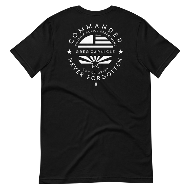 COMMANDER CARNICLE MEMORIAL SHIRT PREORDER*