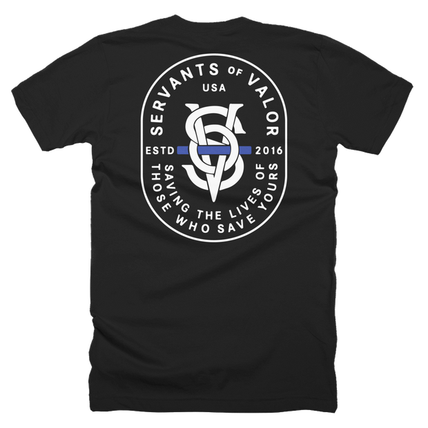 SOV THIN BLUE LINE T-SHIRT