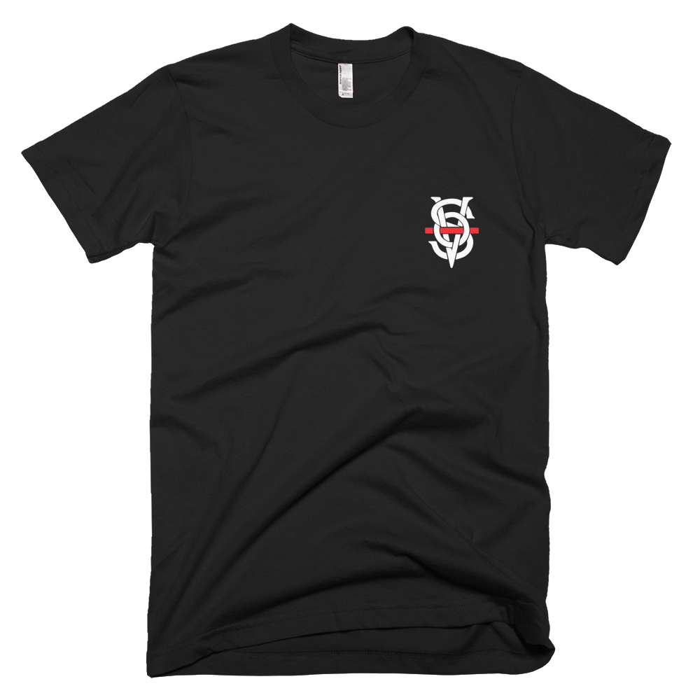 SOV THIN RED LINE T-SHIRT