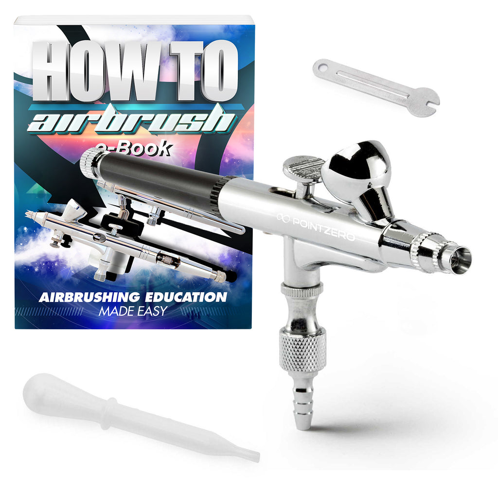 Gravity-Feed Dual Action Airbrush - mixwholesale.com
