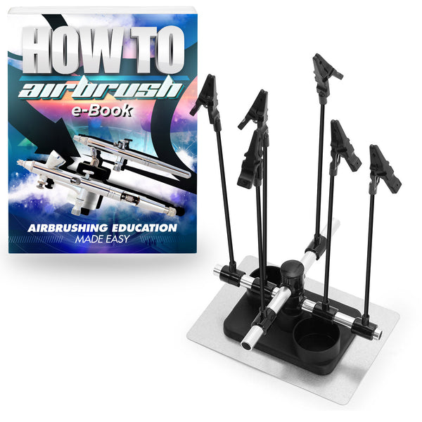 Airbrush Model Holder - 6 Clips - mixwholesale.com