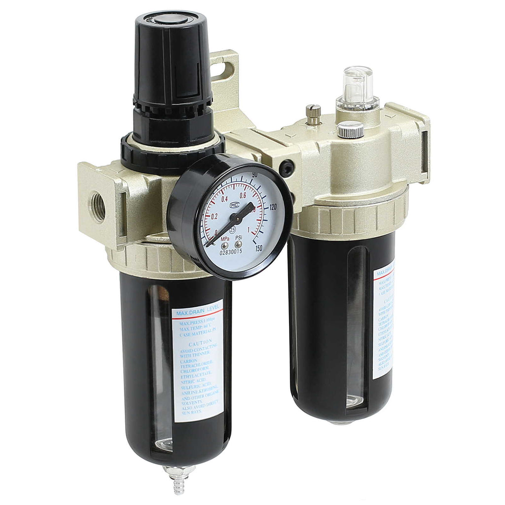 Air Compressor Filter - Lubricator Inline Regulator - mixwholesale.com