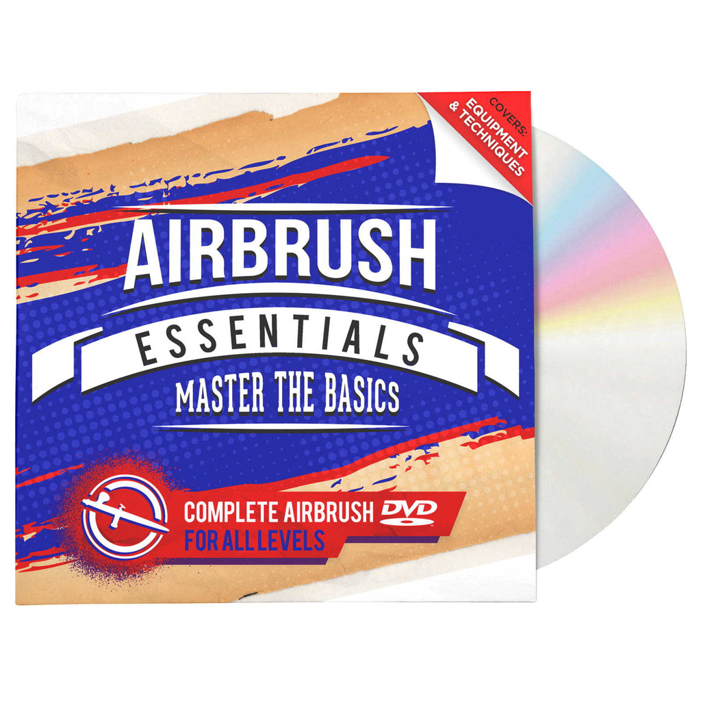 Airbrush Essentials - Master the Basics - Beginner's Guide DVD Tips Techniques - mixwholesale.com