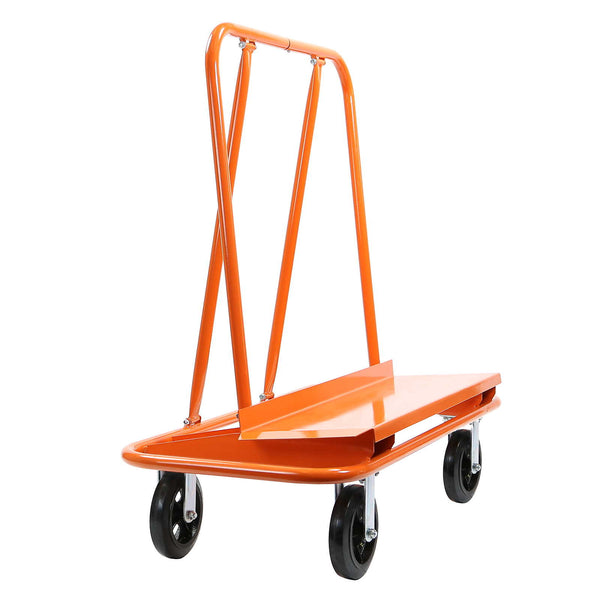 Drywall Sheet Cart - Plywood Panel Dolly Trolley Truck 4 Swivel Wheels - mixwholesale.com