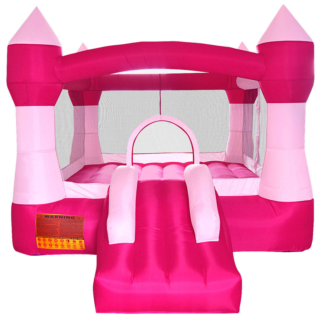 Pink Princess Bounce House Girls Jumper Castle Bouncer Inflatable Only - mixwholesale.com