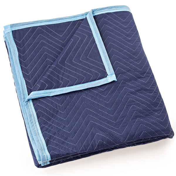 "Moving Blanket Furniture Pad - Deluxe Pro - 80"" x 72"" Royal Blue - mixwholesale.com"