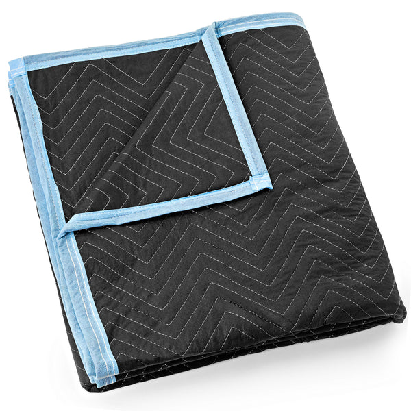 "Moving Blanket Furniture Pad - Ultra Thick Pro - 80"" x 72"" Black - mixwholesale.com"