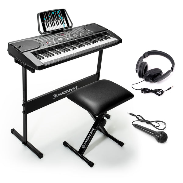 61-Key Digital Music Piano Keyboard - Portable Electronic Musical Instrument - mixwholesale.com