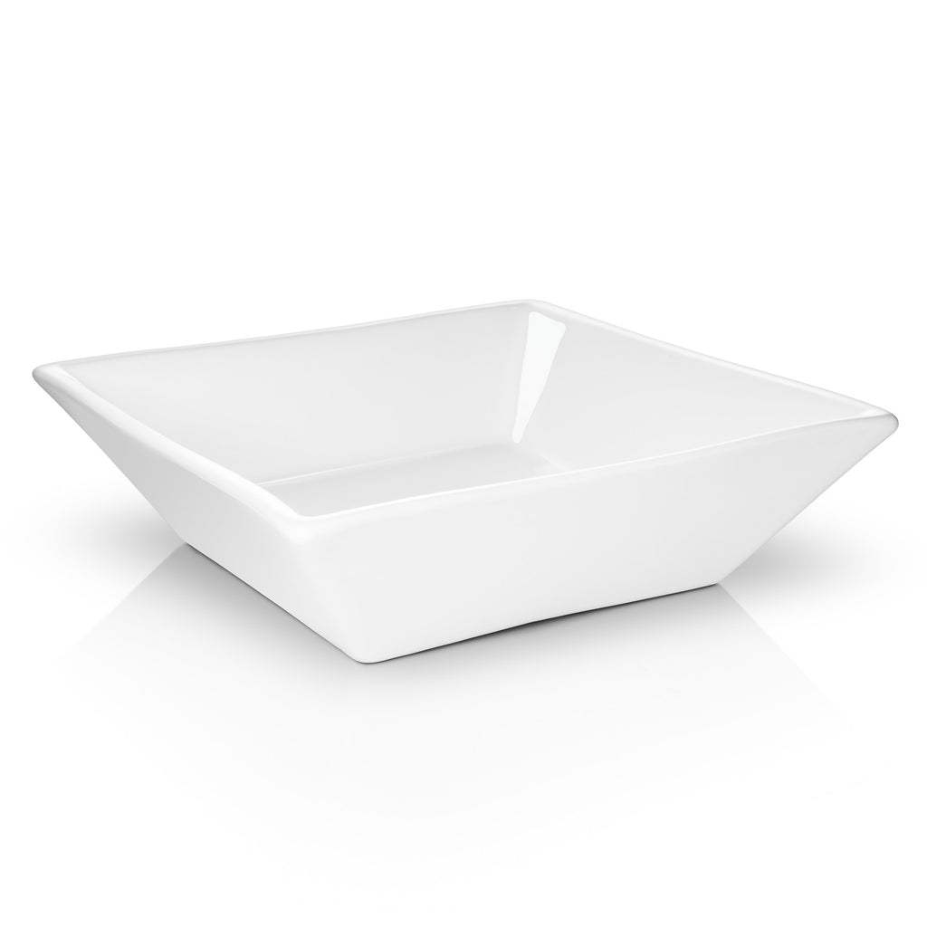 MODERN LUXURIOUS STYLING: Add high-style to any bathroom or bar vanity with this sleek and contemporary ceramic sink bowl, which offers modern, minimalist elegance and glamour to instantly update any room.