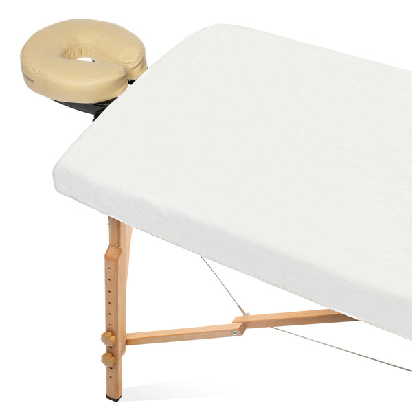 10 Disposable Fitted Spa Massage Table Sheets / Soft Salon Spa Facial Bed Covers - mixwholesale.com