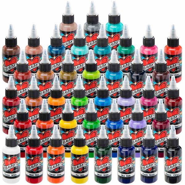 MOMs Millennium Tattoo Ink - 1/2 oz - mixwholesale.com