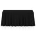 Rectangular Wedding Banquet Polyester Fabric Tablecloth (Many Colors & Sizes) - mixwholesale.com