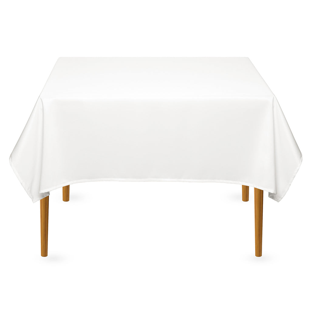 "54"" Square Wedding Banquet Polyester Fabric Tablecloth (Many Colors) - mixwholesale.com"