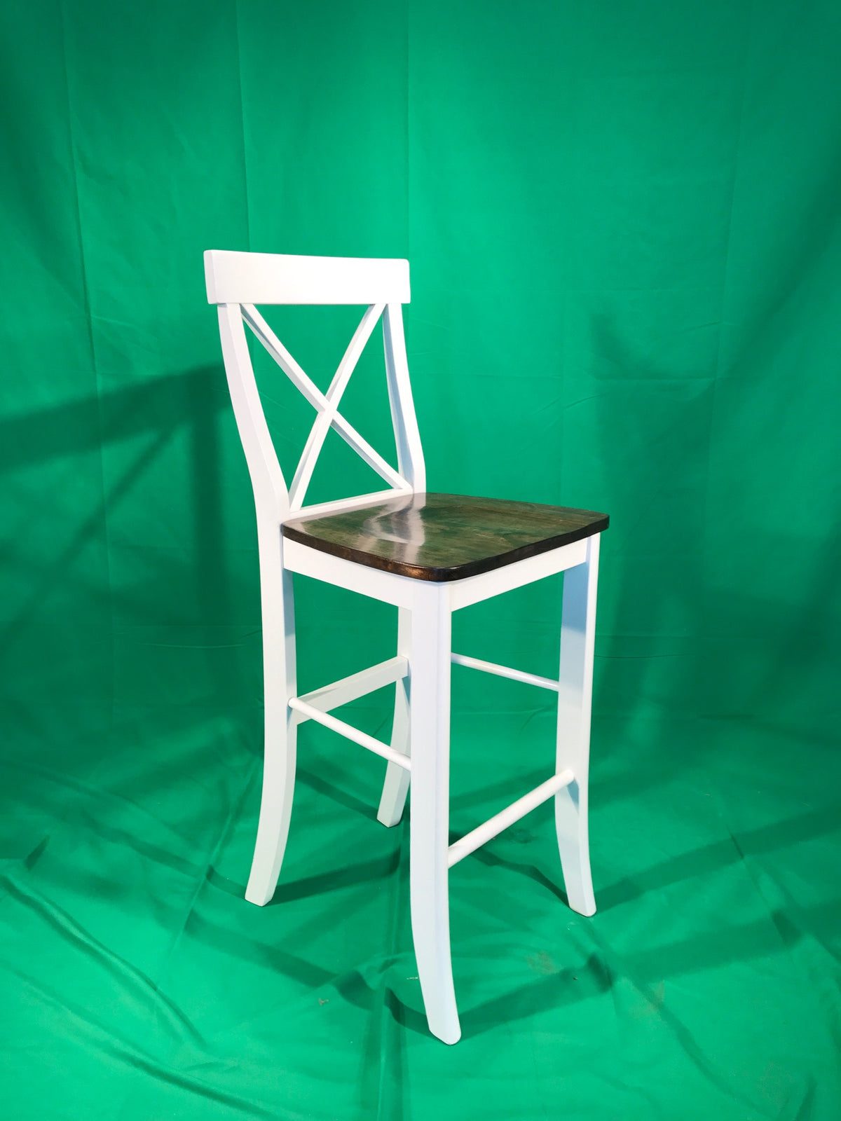 "24"" counter height x-back stool"