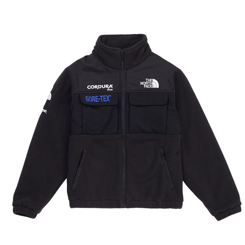 Supreme The North Face Expedition Fleece (FW18) Jacket Black