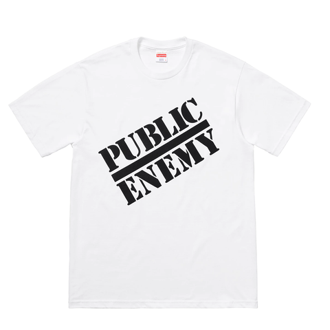 Supreme UNDERCOVER/Public Enemy Tee White