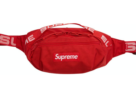 Supreme Waist Bag Red (SS18)