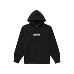 Supreme Bandana Box Logo Hooded Sweatshirt Black