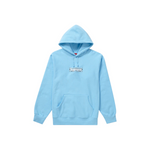 Supreme Bandana Box Logo Hooded Sweatshirt Light Blue