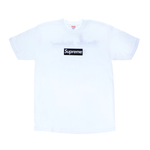 Supreme Paris Box Logo Tee White