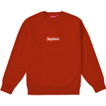 Supreme Box Logo Crewneck (FW18) Rust