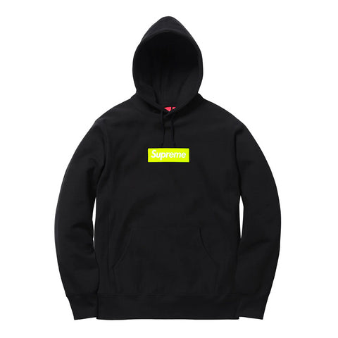 Supreme Box Logo Hooded Sweatshirt (FW17) Black